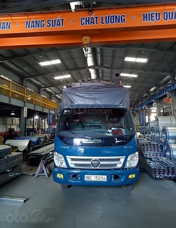 Bán Thaco OLLIN 700C sản xuất 2017, màu xanh lam như mới (1)