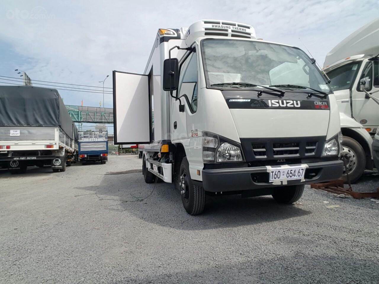 Bán Isuzu QKR77HE4 2019 2 tấn 4, là dòng xe tải nhẹ cao cấp hiện nay, ưu đãi lớn khi mua xe. LH: 0939683779 (4)