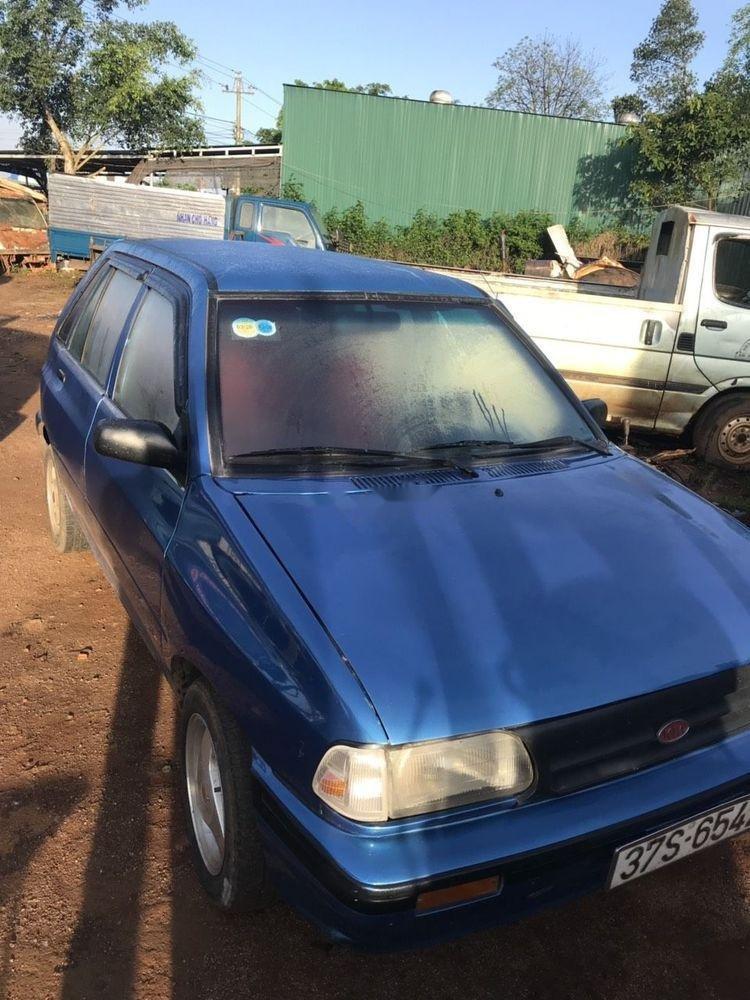 Cần bán Kia Pride sản xuất năm 1999, màu xanh lam, giá 60tr (1)