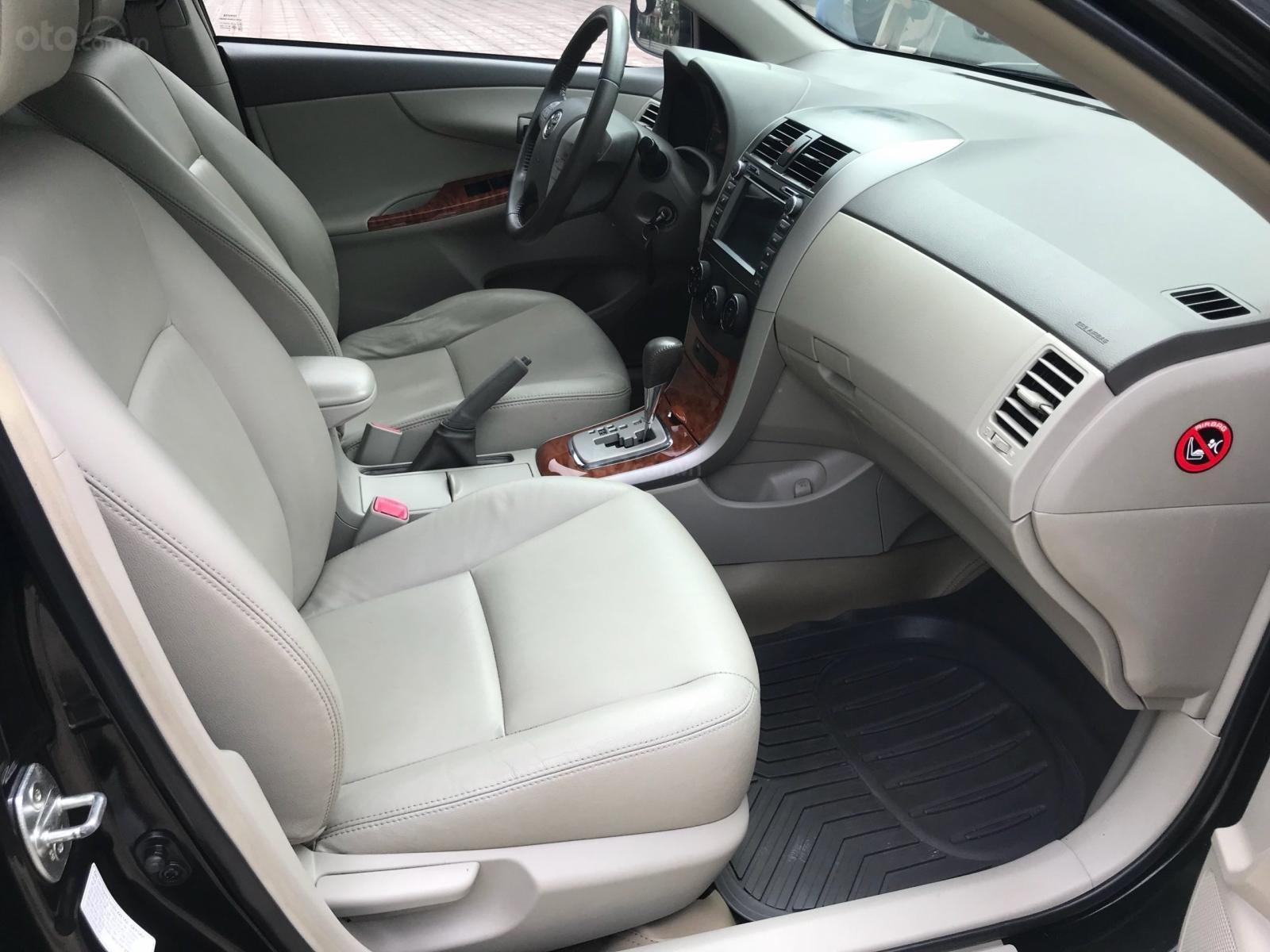 Cần bán Toyota Corolla Altis 1.8AT năm 2009, màu đen, 450 triệu (11)