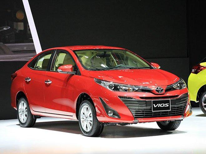 Giá lăn bánh xe Toyota Vios 2019/