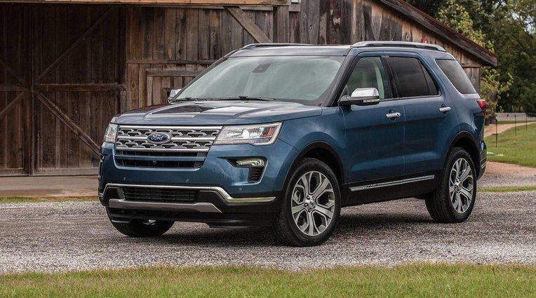 Ngoại thất xe Ford Explore 2021