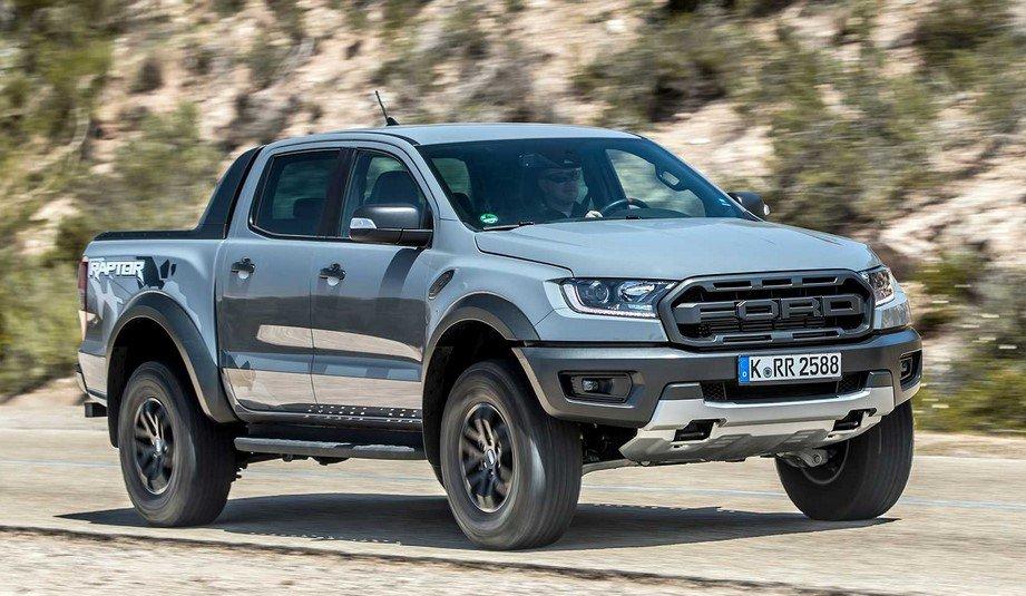 Ngoại thất xe Ford Ranger Raptor 2020