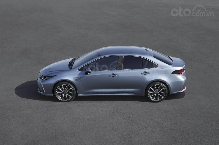 Ảnh chụp thân xe Toyota Corolla Altis 2020