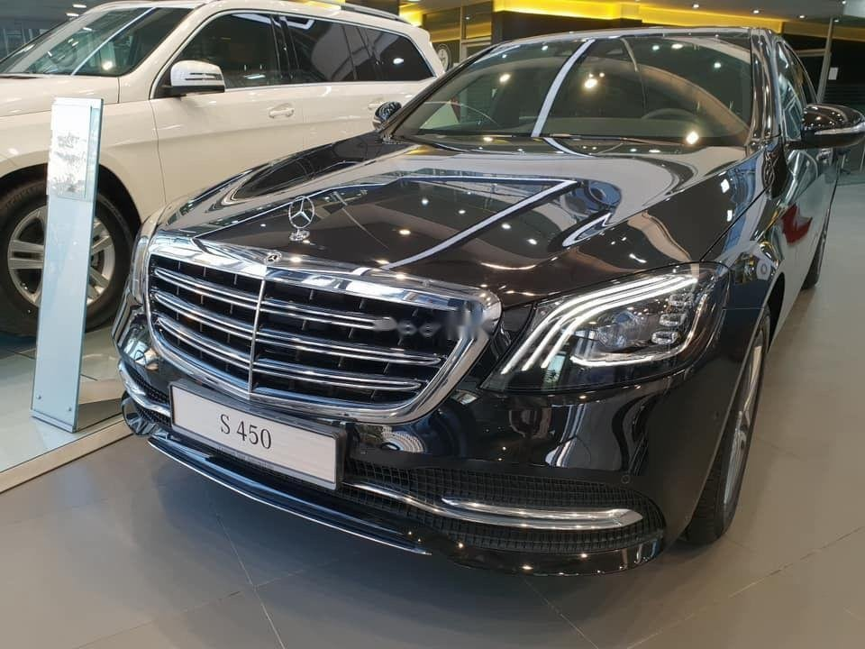 Cần bán Mercedes S450 sản xuất năm 2018, màu đen (1)