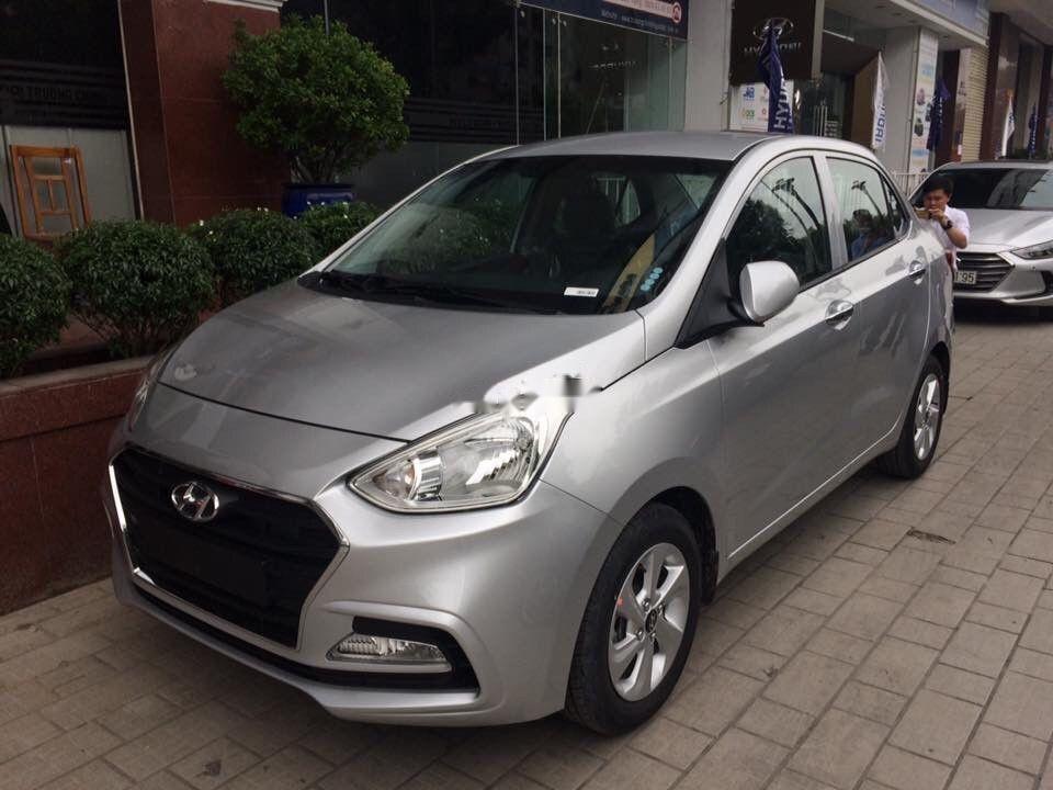 Bán xe Hyundai Grand i10 năm 2019, màu bạc, nhập khẩu nguyên chiếc (4)