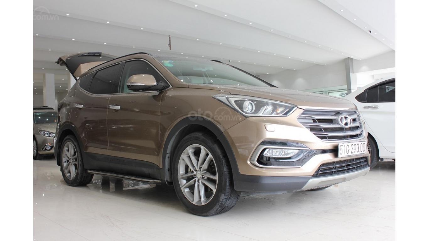 Bán xe Hyundai Santa Fe 2.5 AT 2017, trả trước chỉ từ 285tr, hotline: 0985.190491 Ngọc (2)