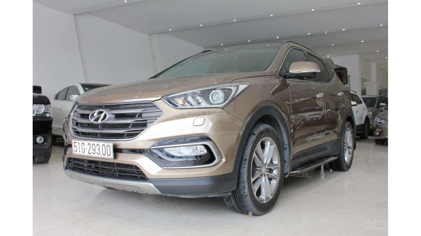 Bán xe Hyundai Santa Fe 2.5 AT 2017, trả trước chỉ từ 285tr, hotline: 0985.190491 Ngọc (3)