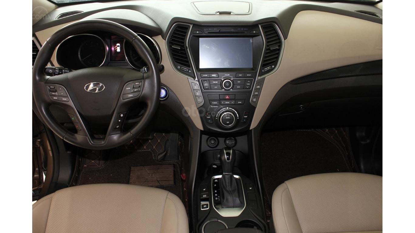 Bán xe Hyundai Santa Fe 2.5 AT 2017, trả trước chỉ từ 285tr, hotline: 0985.190491 Ngọc (10)