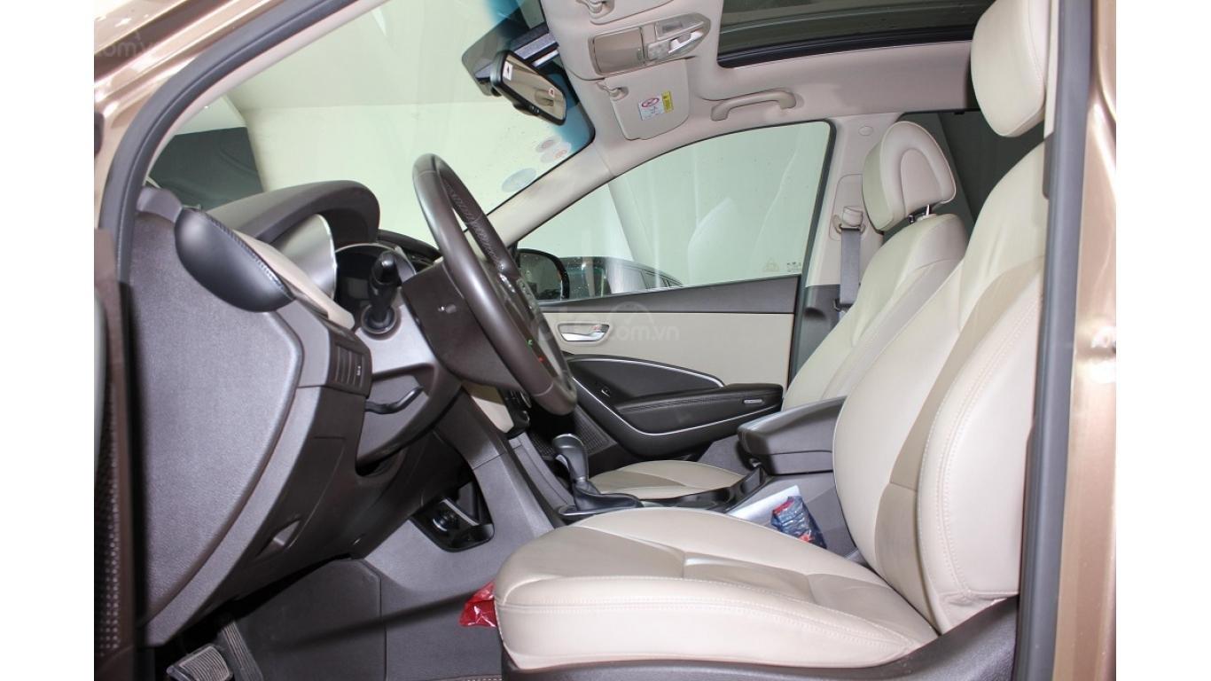 Bán xe Hyundai Santa Fe 2.5 AT 2017, trả trước chỉ từ 285tr, hotline: 0985.190491 Ngọc (9)