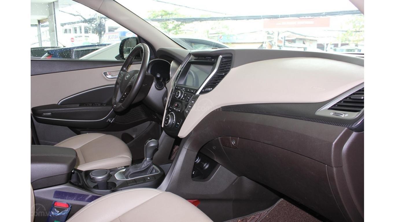 Bán xe Hyundai Santa Fe 2.5 AT 2017, trả trước chỉ từ 285tr, hotline: 0985.190491 Ngọc (8)