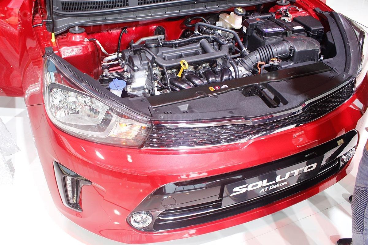 Kia Soluto 2019 sử dụng động cơ xăng, Kappa 1.4L Gasoline, công suất tối đa 94 mã lực 1