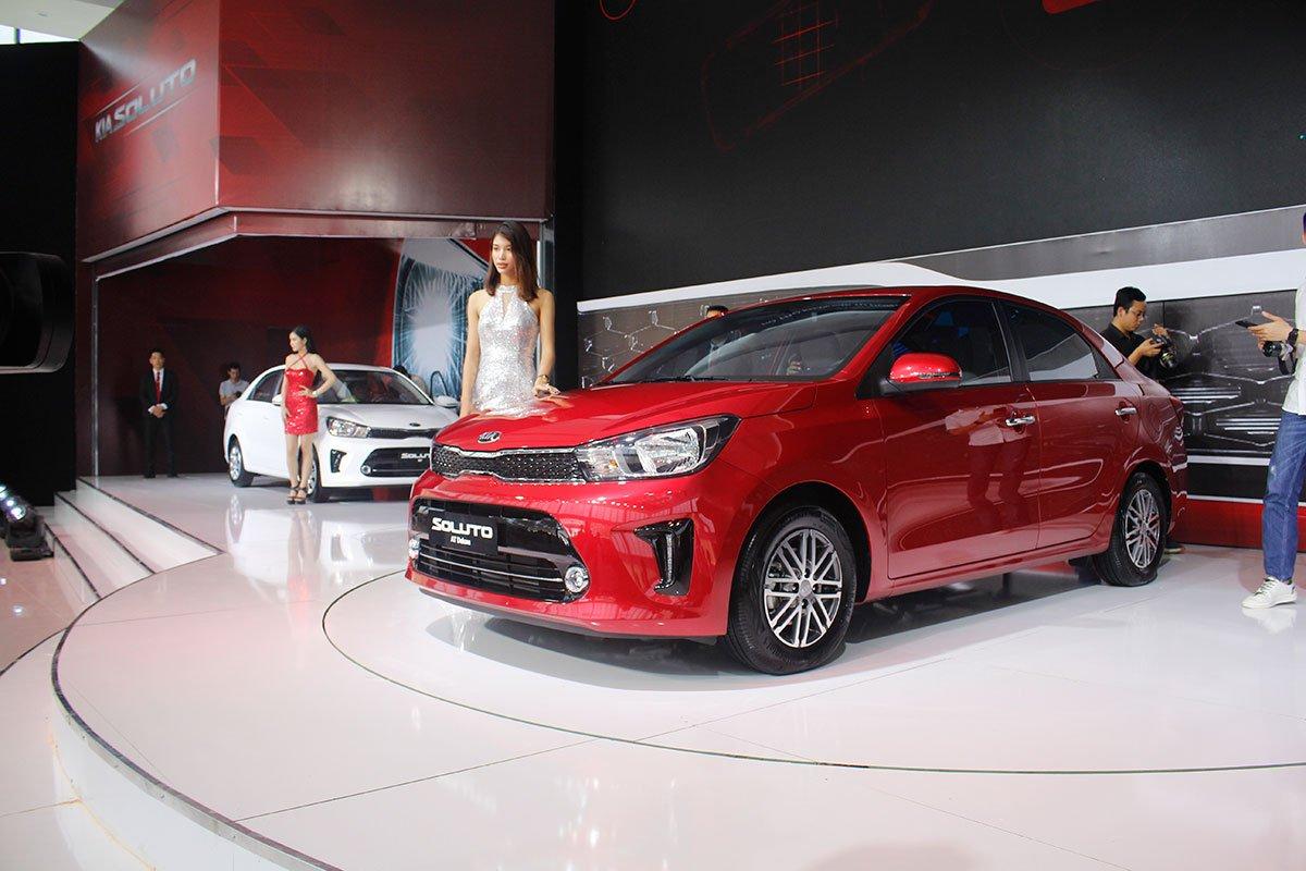 Kia Soluto 2019 là mẫu xe sẽ thay thế Kia Rio đã bị khai tử vào tháng 2/2018 a1