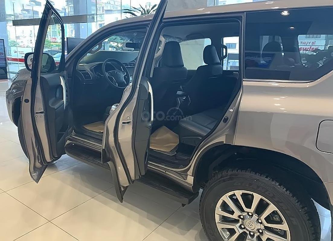 Bán Toyota Land Cruiser Prado VX 2.7L năm sản xuất 2019, màu ghi vàng, xe nhập (3)