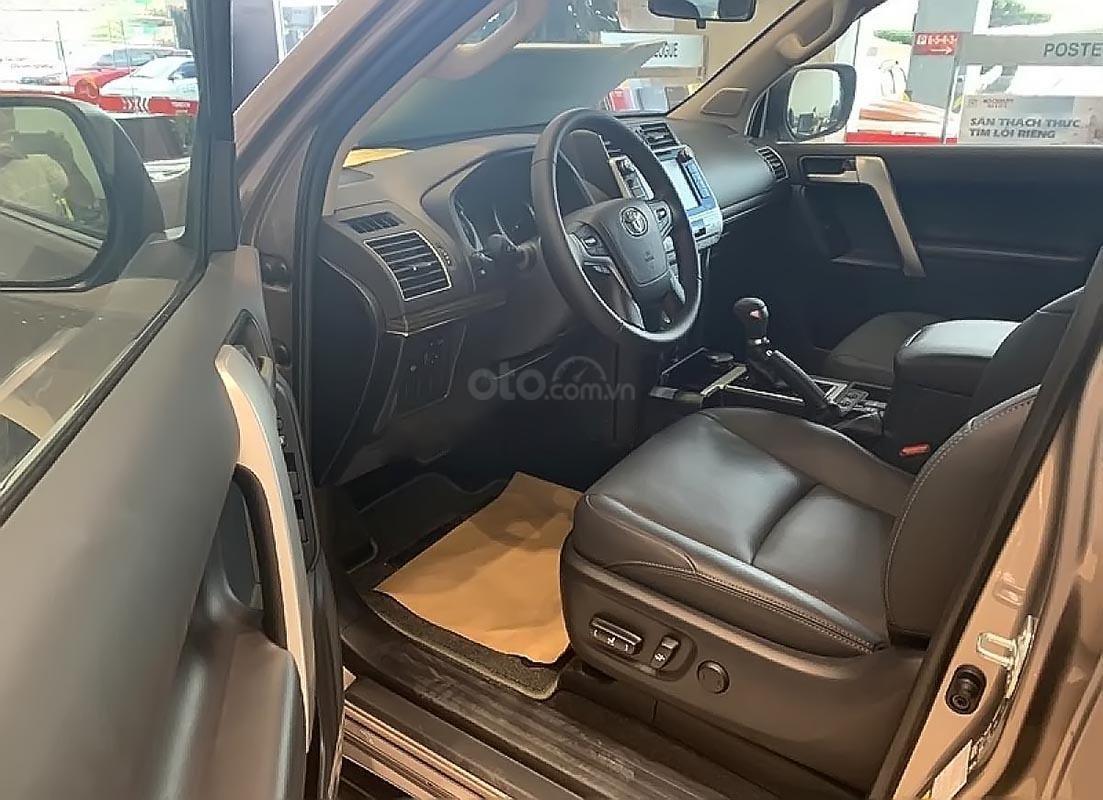 Bán Toyota Land Cruiser Prado VX 2.7L năm sản xuất 2019, màu ghi vàng, xe nhập (5)