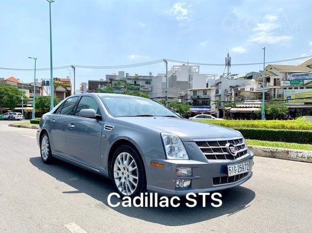 Cadillac STS nhập Mỹ 2010, hàng full đủ đồ chơi, nút đề star/top, hai cửa sổ trời (1)