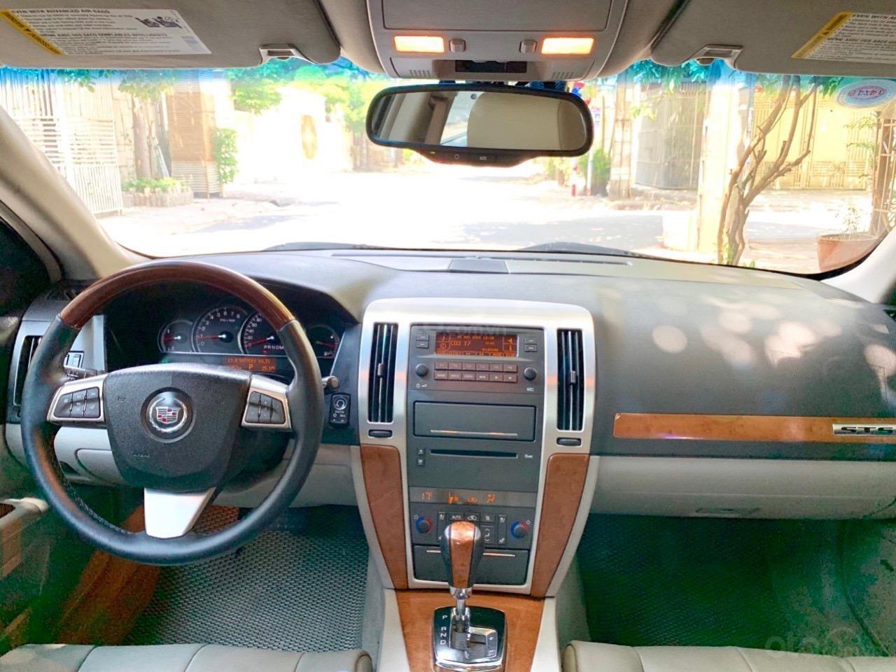 Cadillac STS nhập Mỹ 2010, hàng full đủ đồ chơi, nút đề star/top, hai cửa sổ trời (6)