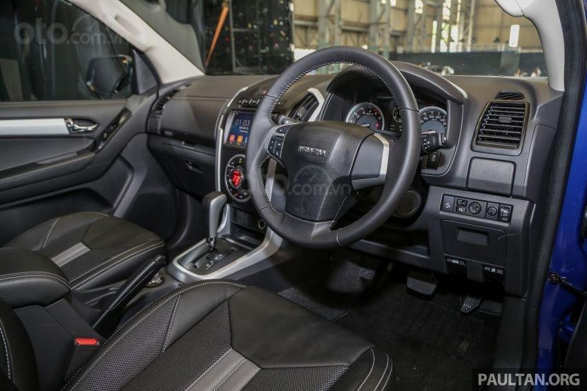Isuzu D-Max 2019 facelift sở hữu hàng loạt tính năng đáng giá