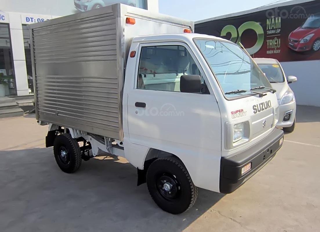 Bán Suzuki Super Carry Pro đời 2019, màu trắng, nhập khẩu, giá tốt (1)