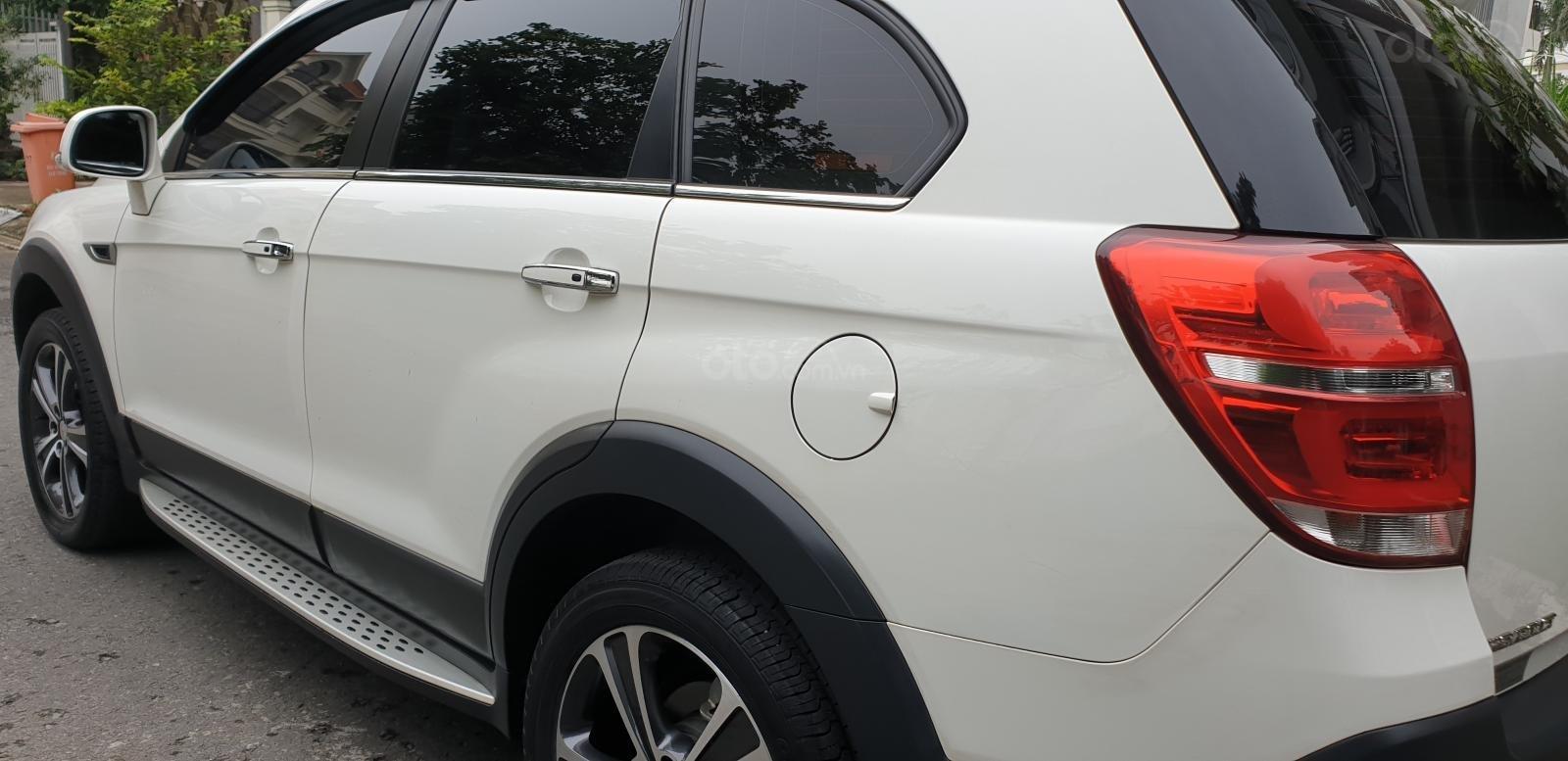 Bán Chevrolet Captiva LTZ máy Ecotec số tự động model 2016, SX T12/ 2015, màu trắng, đẹp mới 90% (8)