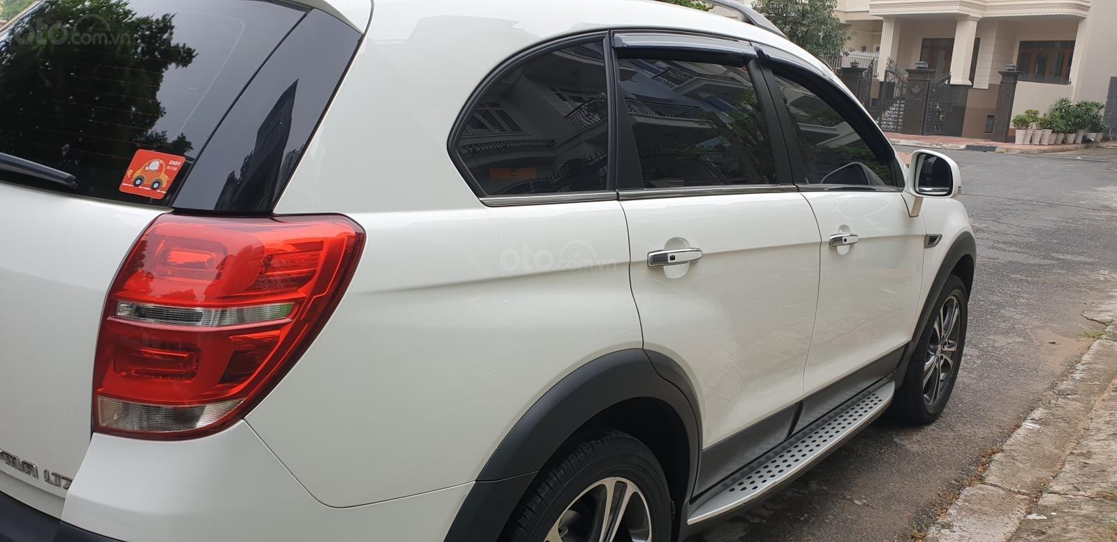 Bán Chevrolet Captiva LTZ máy Ecotec số tự động model 2016, SX T12/ 2015, màu trắng, đẹp mới 90% (9)