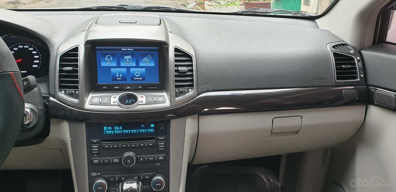 Bán Chevrolet Captiva LTZ máy Ecotec số tự động model 2016, SX T12/ 2015, màu trắng, đẹp mới 90% (14)