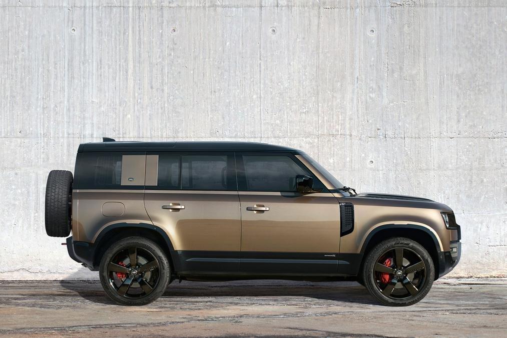Thân xe Land Rover Defender 2020