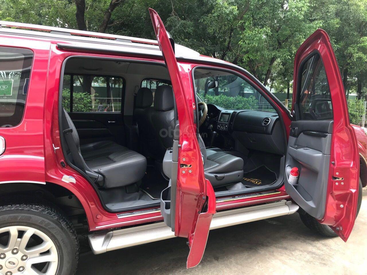 Bán ô tô Ford Everest sản xuất 2015, màu đỏ, giá tốt, 675 triệu đồng (4)