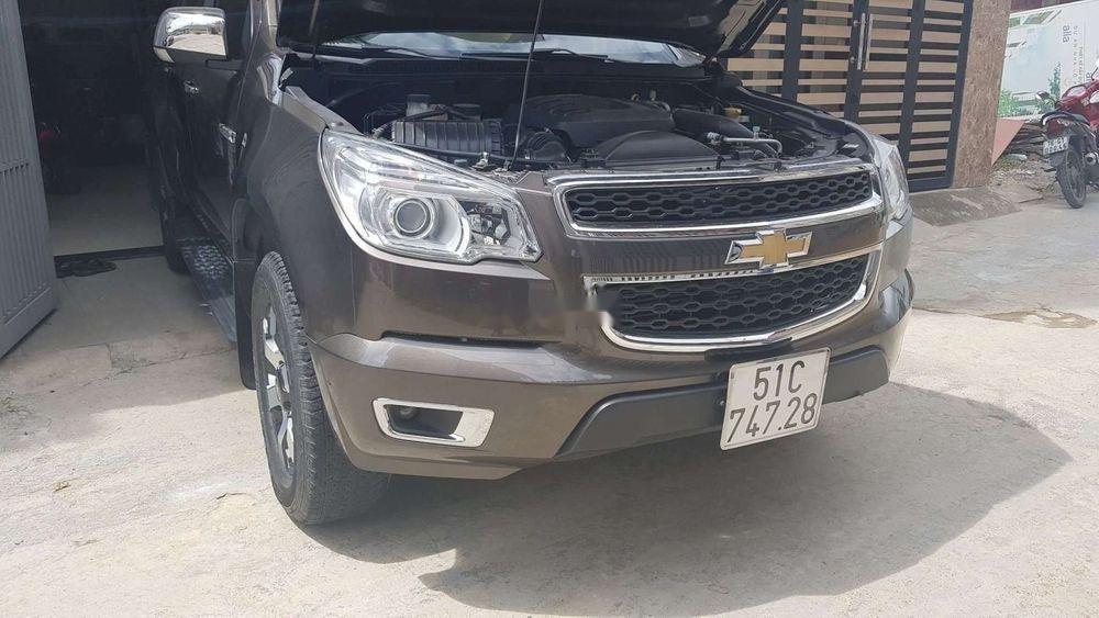 Cần bán Chevrolet Colorado sản xuất 2016, màu nâu, xe nhập  (1)