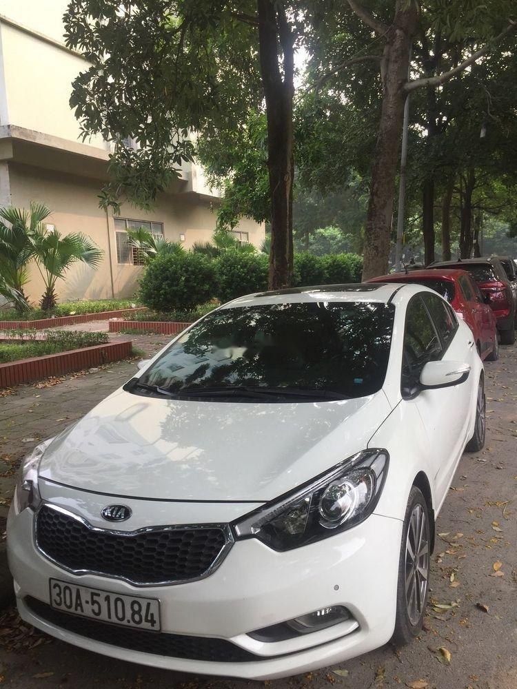 Cần bán Kia K3 năm 2015, màu trắng, xe gia đình  (3)