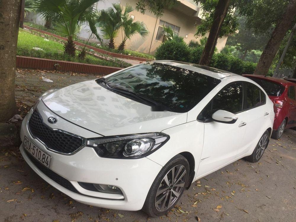 Cần bán Kia K3 năm 2015, màu trắng, xe gia đình  (4)