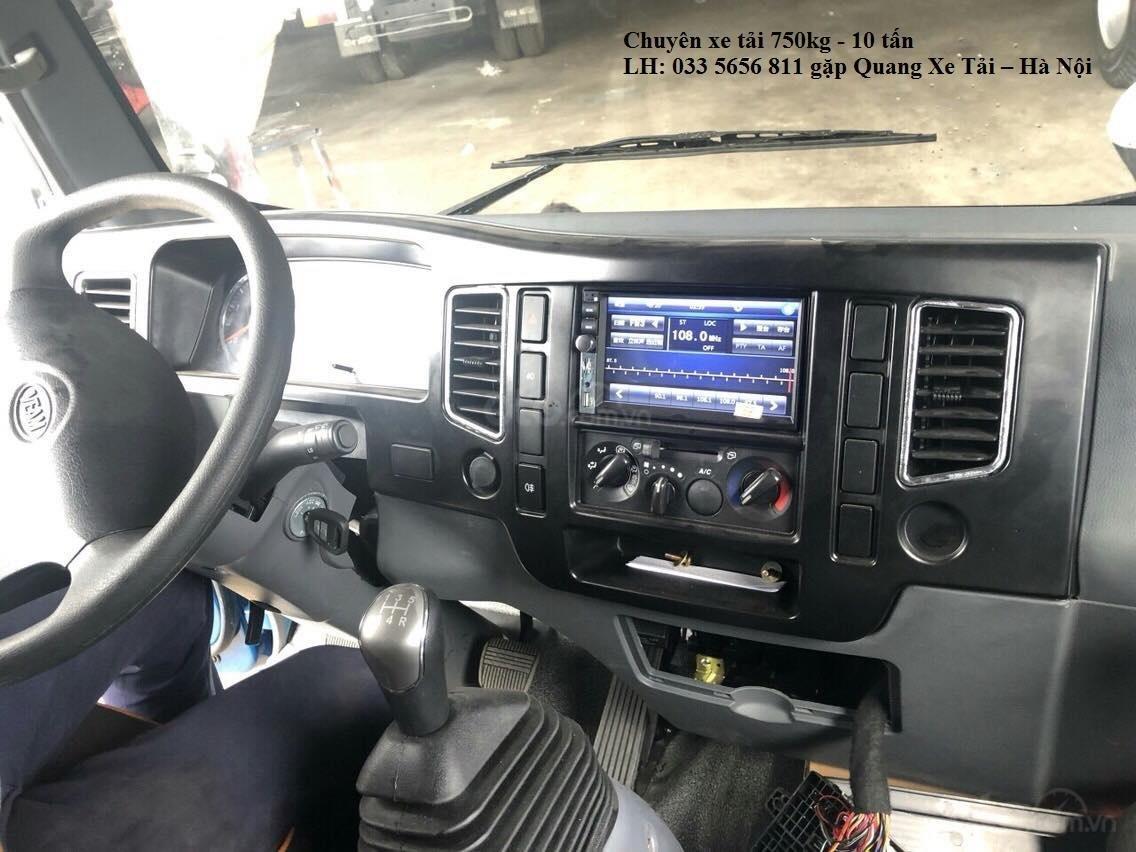 Bán ô tô Veam VT350 đời 2019,3,5 tấn thùng dài 4m9, màu xanh lam, hỗ trợ 50tr nhận xe lãi ngân hàng 0,55% (4)