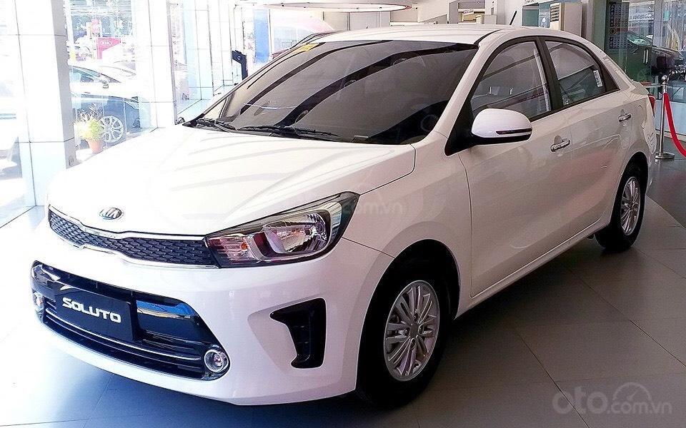 Kia Soluto 1.4 AT đời 2020, chỉ 128 triệu nhận xe- góp 5 triệu/tháng, giao xe ngay, LH: 0933.052.663 (1)