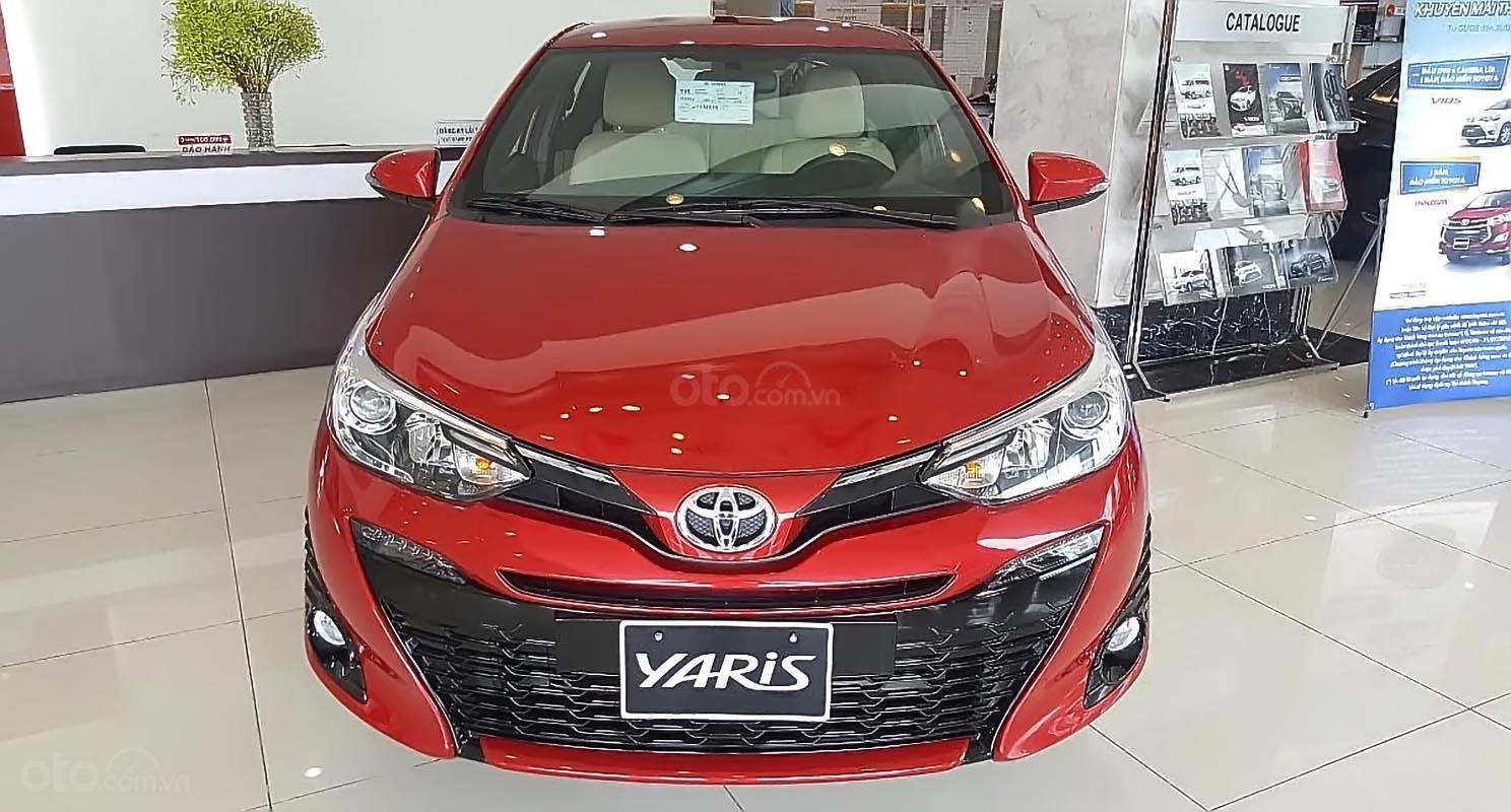 Bán xe Toyota Yaris đời 2019, màu đỏ, nhập khẩu nguyên chiếc (1)