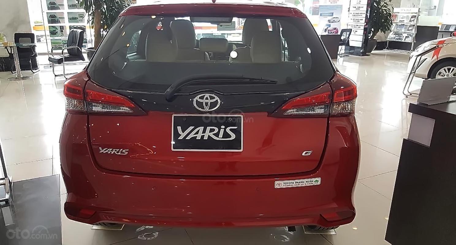 Bán xe Toyota Yaris đời 2019, màu đỏ, nhập khẩu nguyên chiếc (2)