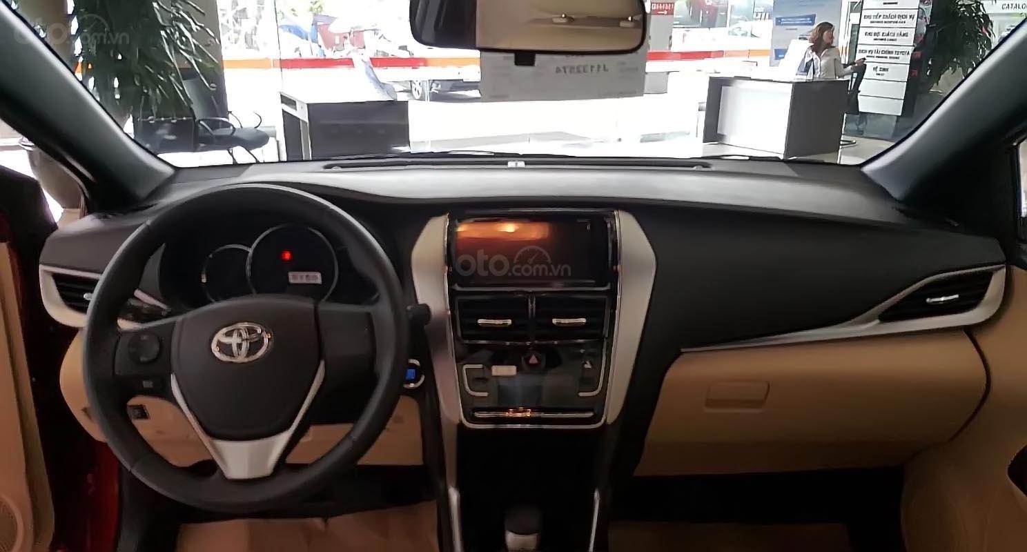 Bán xe Toyota Yaris đời 2019, màu đỏ, nhập khẩu nguyên chiếc (5)