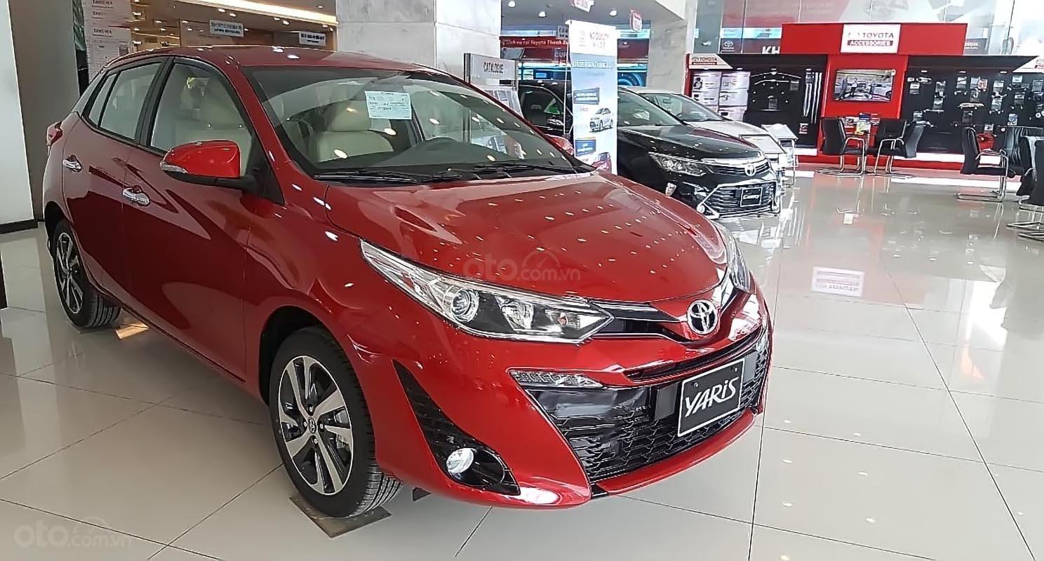 Bán xe Toyota Yaris đời 2019, màu đỏ, nhập khẩu nguyên chiếc (4)