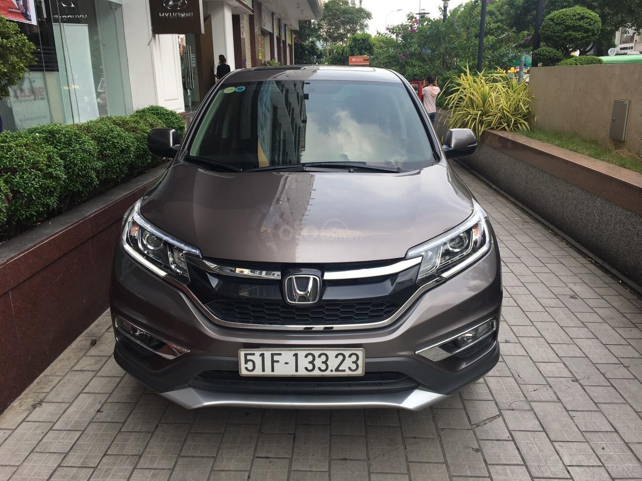 Cần thanh lý Honda CRV đời 2015 full option, xe đẹp giá tốt (1)