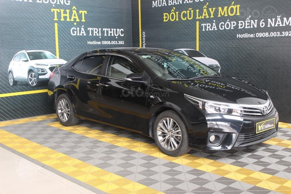Cần bán xe Toyota Corolla Altis G 1.8 AT sản xuất năm 2015, màu đen (3)