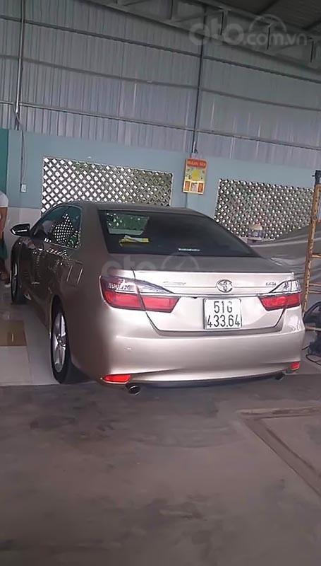 Bán ô tô Toyota Camry 2.5Q sản xuất 2017, màu xám số tự động (2)