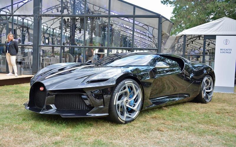 Bugatti La Voiture Noire (năm 2019).