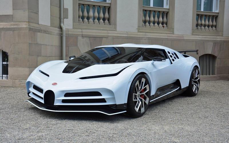 Bugatti Centodieci (năm 2019).