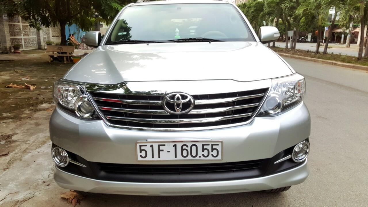 Bán xe Toyota Fortuner V 2015, màu bạc, liên hệ: 0942892465 - Thanh (1)