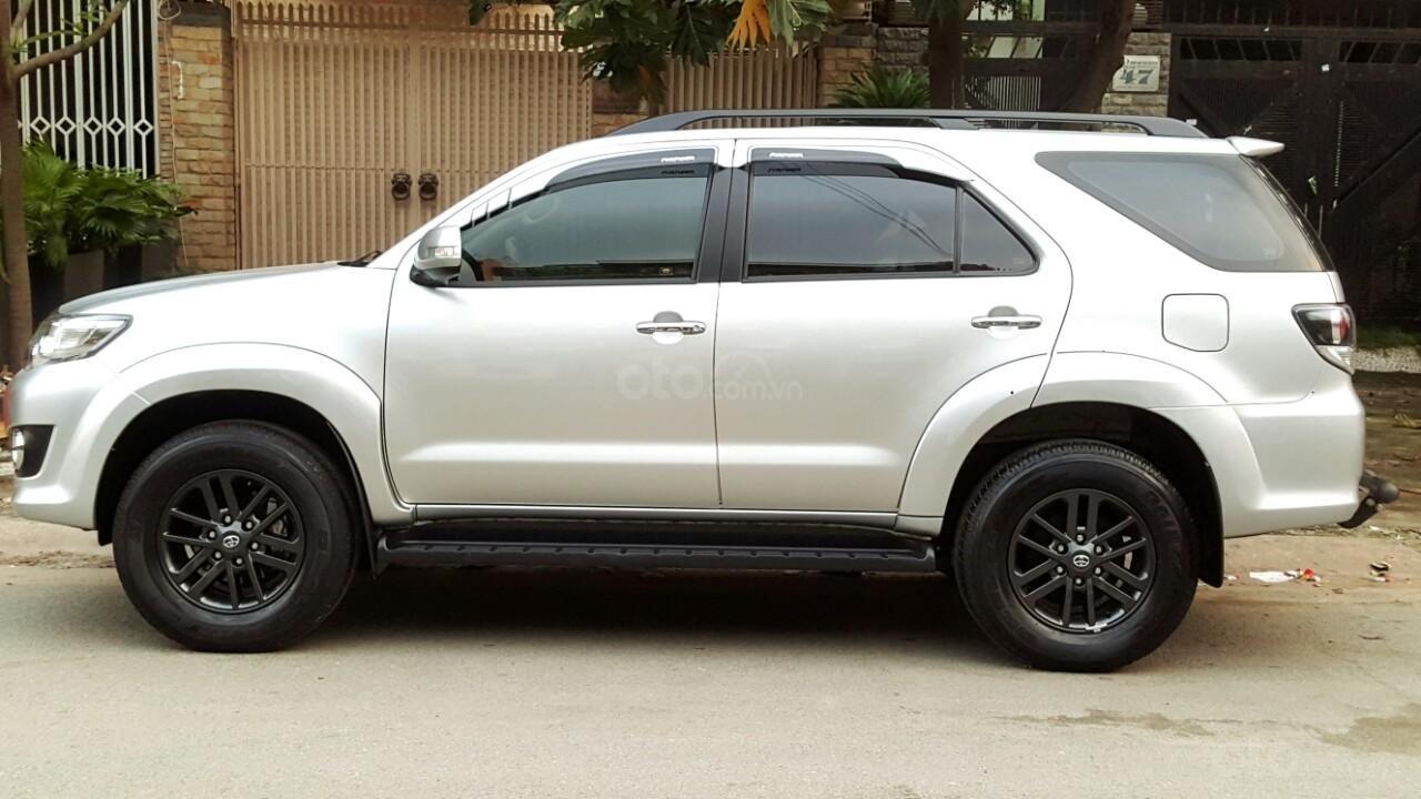 Bán xe Toyota Fortuner V 2015, màu bạc, liên hệ: 0942892465 - Thanh (3)