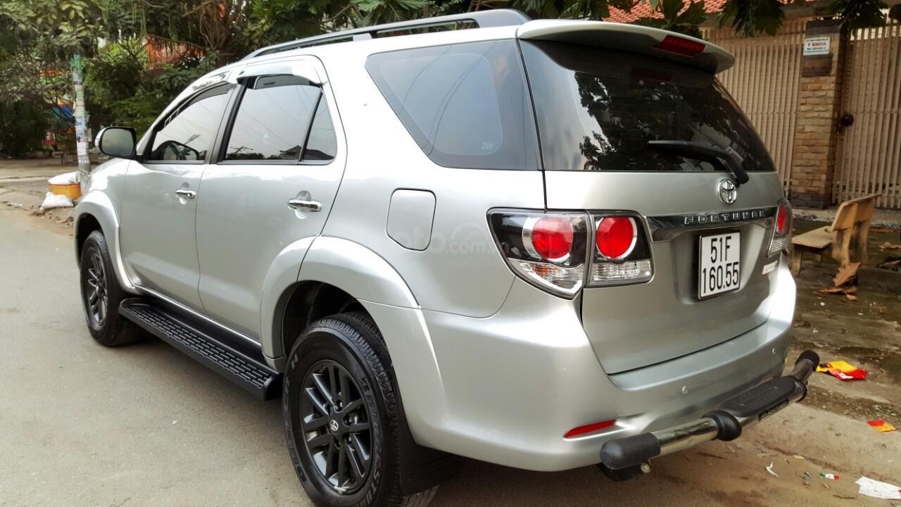 Bán xe Toyota Fortuner V 2015, màu bạc, liên hệ: 0942892465 - Thanh (4)