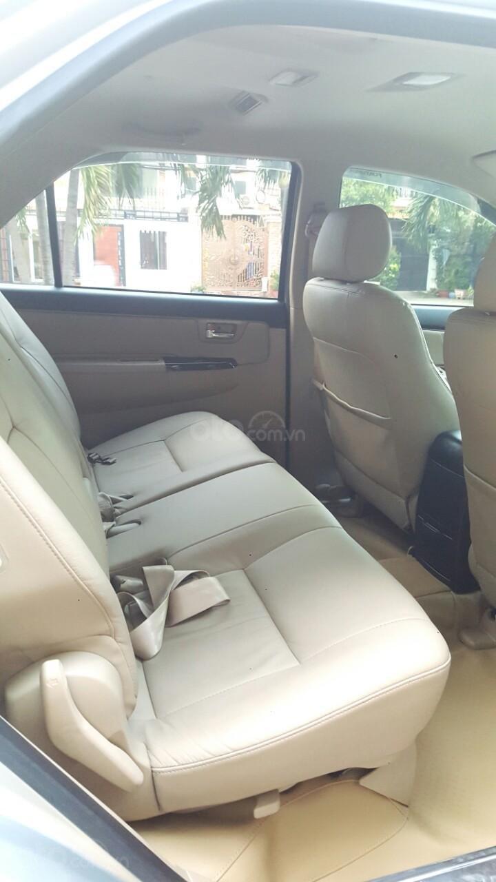 Bán xe Toyota Fortuner V 2015, màu bạc, liên hệ: 0942892465 - Thanh (8)
