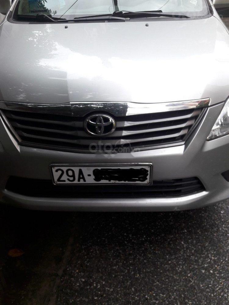 Bán Toyota Innova 2.0G 2013, màu bạc số tự động (1)
