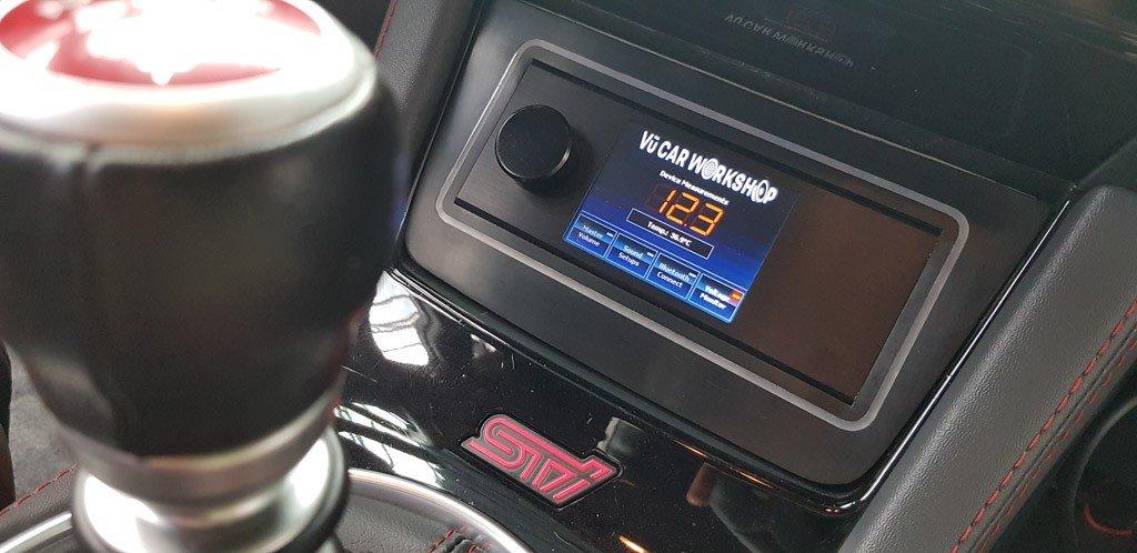 Subaru WRX STi độ dàn âm thanh khủng tại Sài Gòn a9