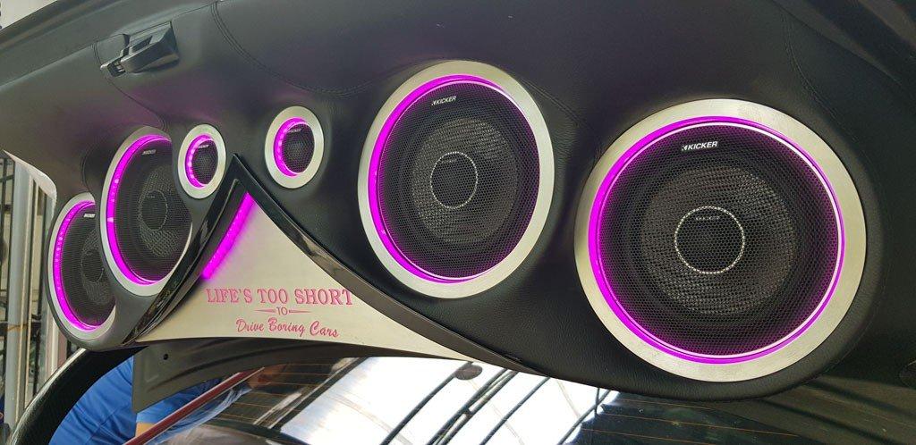 Subaru WRX STi độ dàn âm thanh khủng tại Sài Gòn a4