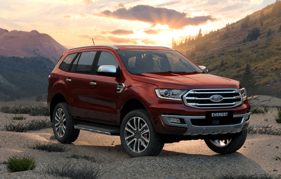 Ford Everest 2019 tại Việt Nam.